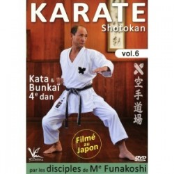 DVD Karate shotokan kata bunkai