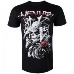 T-shirt Samurai Skull