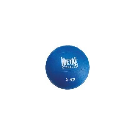 MEDICINE BALL - 3Kg - METAL BOXE