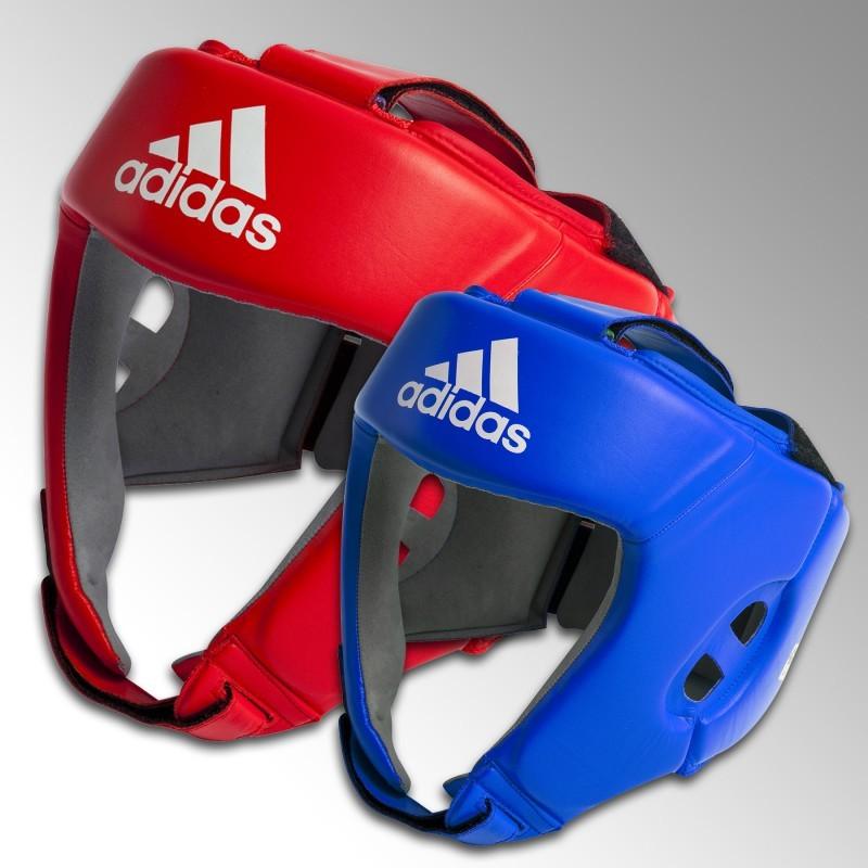 Casque de boxe compétition amateur adidas Arts Martiaux