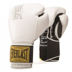 Gants de boxe Everlast 1910 Training - Blanc