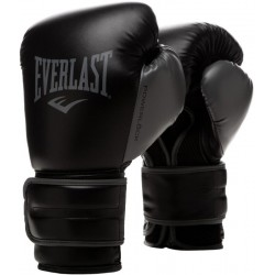Gants de Boxe Everlast Powerlock Training - Blanc ou Noir