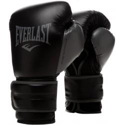Gants de Boxe Everlast Powerlock Training - Blanc ou Noir