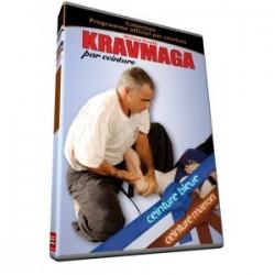 KRAVMAGA par ceintures: bleue et marron.