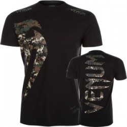 T shirt Venum jungle Camo Black