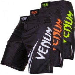 Venum challenger fightshorts black/ice