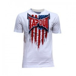 T shirt Tapout USA flag rendering