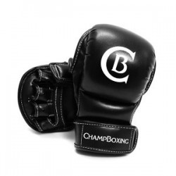 Gants MMA ChampBoxing Sparring C-Black