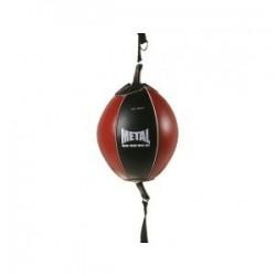 Ballon double élastique Metal boxe